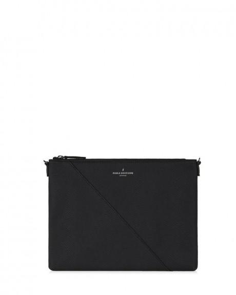 STEPHANIE CLUTCH BAG BLACK - STEPHANIE PBN126927