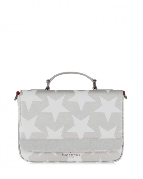 NICOLE CROSS BODY BAG SILVER ΤΗΣ PAUL'S BOUTIQUE - MIDI NICOLE PBN12699