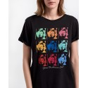 ΜΠΛΟΥΖΑ T-SHIRT WITH PRINT ON THE FRONT ΤΗΣ GUESS - W84I18K19U1