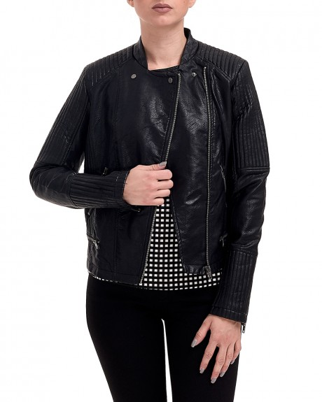 ECO LEATHER MARIAN JACKET ΤΗΣ PEPE JEANS - PL401269 MARIAN