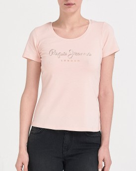 LADIES T-SHIRT ΤΗΣ PEPE JEANS - ΡL504034 ANGELICA