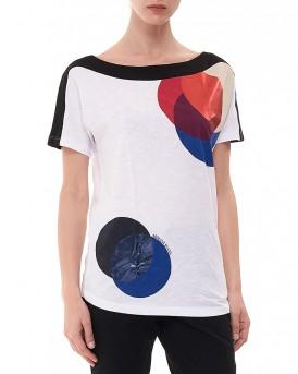 Color Transparency Stamps Μπλούζα της Armani Jeans - 3Y5T04 5J12Z