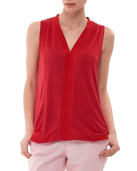 Top Rosso της Armani Jeans - 3Y5M57 5JZQZ