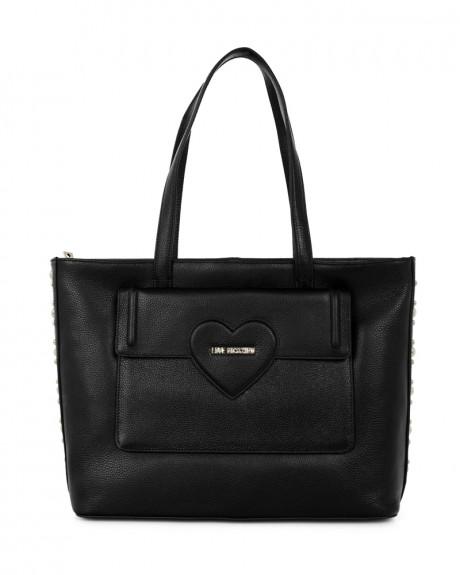 Δερμάτινη Shopping bag της LOVE MOSCHINO - JC4084PP14LL0