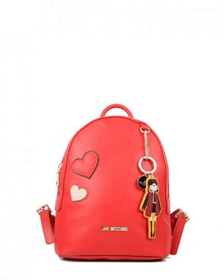 Girls & Heart Backpack της LOVE MOSCHINO - JC4090PP14LM0