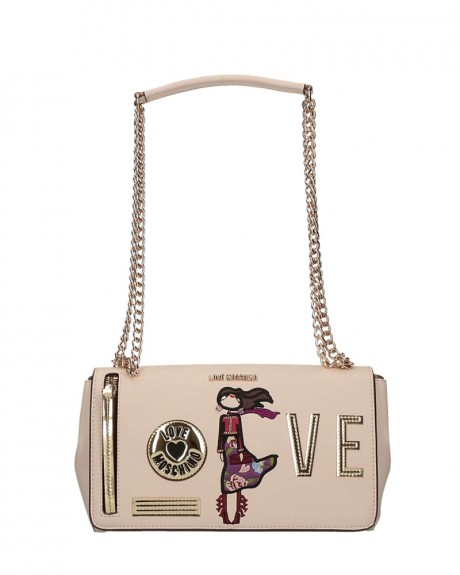 Girls & Heart τσαντάκι της LOVE MOSCHINO - JC4114PP14LQ0