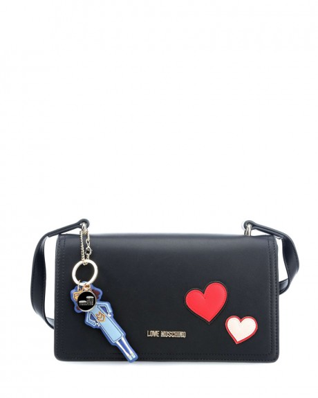 Girls & Hearts Τσαντάκι χειρός της LOVE MOSCHINO - JC4088PP14LM0