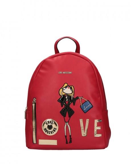 Girls & Heart Backpack της LOVE MOSCHINO - JC4115PP14LQ0