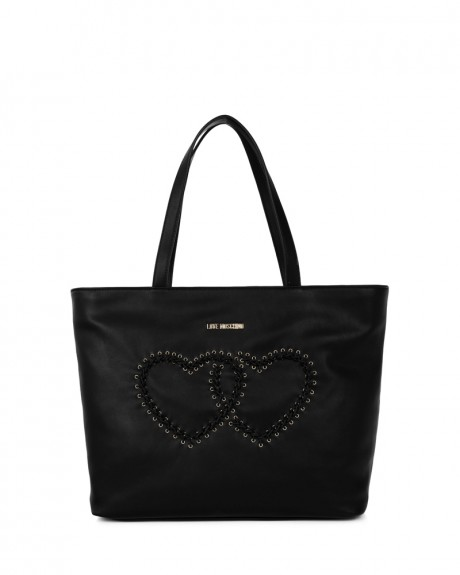 Hearts shopping bag της LOVE MOSCHINO - JC4116PP14LR0
