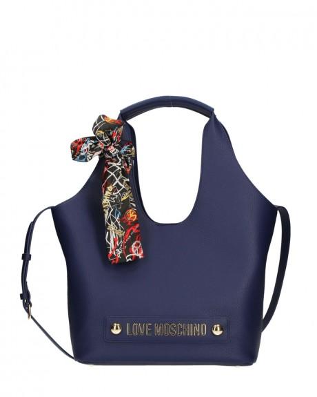 BONDED PU SHOPPING BAG ΤΗΣ LOVE MOSCHINO - JC4120PP16LV0