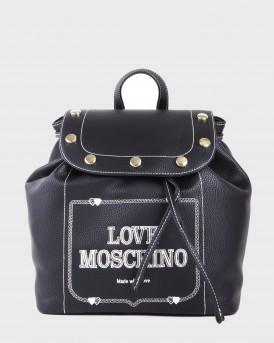 BORSA GRAIN PU BACKPACK ΤΗΣ LOVE MOSCHINO - JC4071PP17LH0