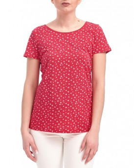 ALL OVER PATTERN T-SHIRT ΤΗΣ TOM TAILOR - 1039186 09.70