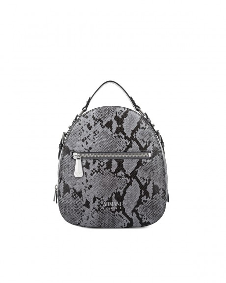 SNAKESKIN BACKPACK ΤΗΣ ARMANI JEANS - 922216 7A797