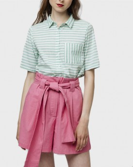 PINK COTTON SHORTS ΤΗΣ COMPANIA FANTASTICA - SS19SΗΕ52