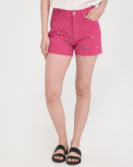 HOTPANT DENIM SHORT GRTFR ΤΗΣ TOMMY HILFIGER - DW0DW06397