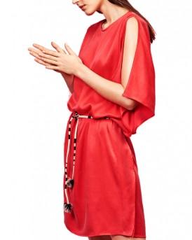 MM/VM φόρεμα της VERO MODA - 10190933  - ΚΟΚΚΙΝΟ