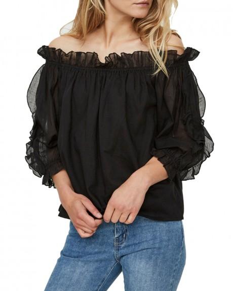 Off shoulder Μπλούζα 2/4 της VERO MODA - 10190228