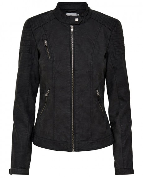 LEATHER LOOK JACKET PU ΤΗΣ ONLY - 15144753