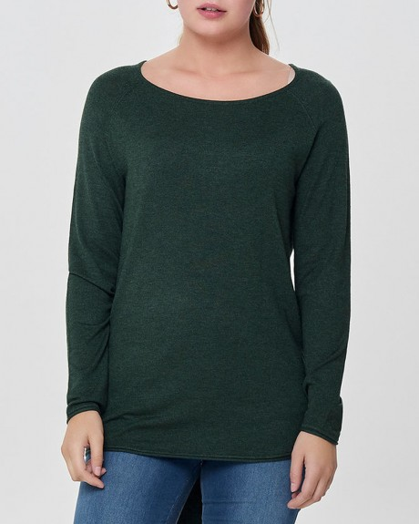 LONG KNITTED PULLOVER ΤΗΣ ONLY - 15109964