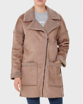 SHERPA COAT ΤΗΣ ONLY - 15159450 - ΡΟΖ
