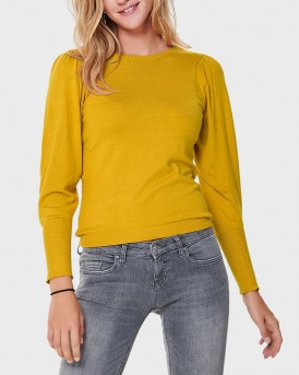 SOLID COLOR KNITTED PULLOVER ΤΗΣ ONLY - 15160867