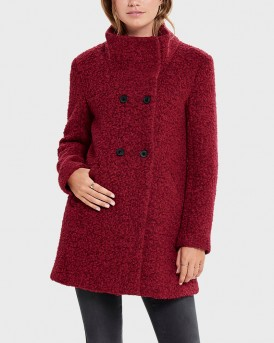 BOUCLE WOOL COAT ΤΗΣ ONLY - 15156577