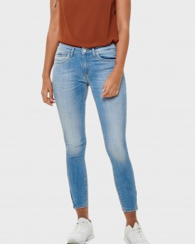 KENDELL REG ANKLE ZIP SKINNY FIT JEANS ΤΗΣ ONLY - 15170824 - ΜΠΛΕ