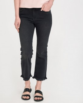 KENYA MID CROP JEANS BB BLACK ΤΗΣ ONLY - 15170203