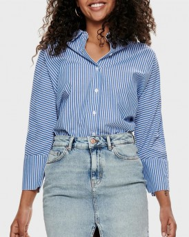 STRIPED 3/4 SLEEVED SHIRT ΤΗΣ ONLY - 15173359