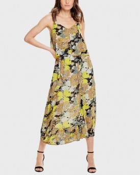 FLORAL PRINTED MAXI DRESS ΤΗΣ ONLY - 15185680 - MULTI