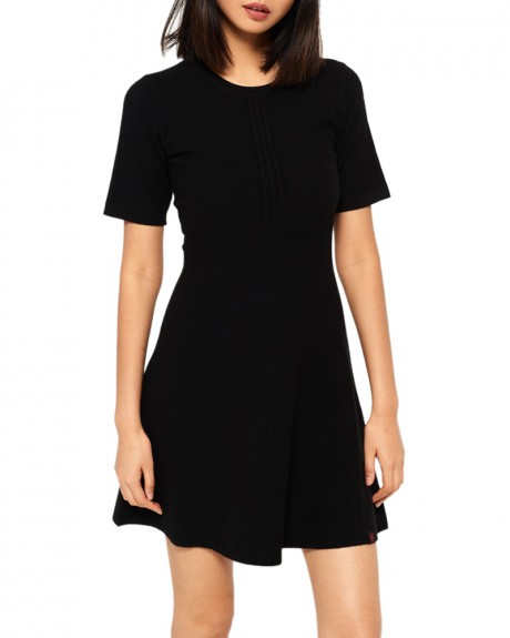 LEXI FIT AND FLARE KNIT DRESS ΠΛΕΚΤΌ ΦΟΡΕΜΑ ΤΗΣ SUPERDRY - G80002AP