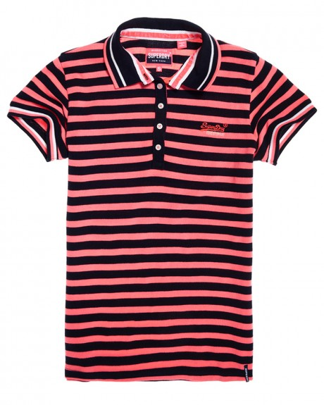 PACIFIC STRIPE POLO SHIRT ΤΗΣ SUPERDRY - G60007TQ