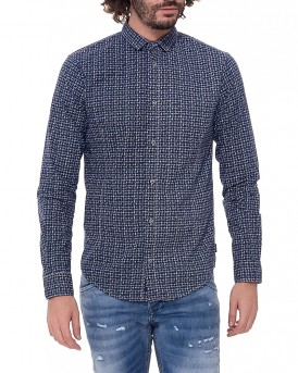 All over pattern πουκάμισο της ARMANI JEANS - 3Y6C58 6N2PZ