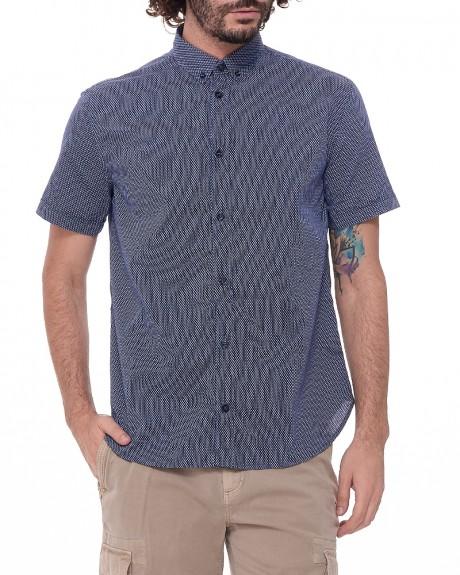 Αll over pattern κοντομάνικο πουκάμισο της ARMANI JEANS - 3Y6C07 6NONZ