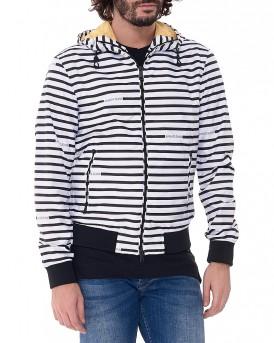 Waterproof Stripes Jacket της ARMANI JEANS - 3Y6B20 6NDAZ