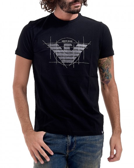 Stamp T-shirt της ARMANI JEANS - 6Y6T12 6J0AZ