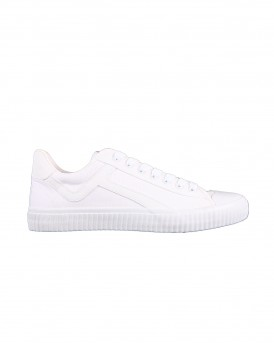 SLHERIC CANVAS TRAINER W SNEAKERS ΤΗΣ SELECTED - 16066545 - ΑΣΠΡΟ