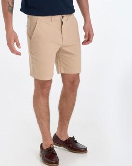 Selected Βερμούδα Straight Chris Shorts - 16068035 - ΜΠΕΖ