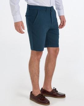 Selected Βερμούδα Straight Chris Shorts - 16068035 - ΜΠΛΕ