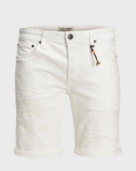 Jack & Jones Bερμούδα Jeans Original Shorts 656 - 12150765 - ΑΣΠΡΟ