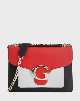 ΤΣΑΝΤΑ CAMILA COLOUR-BLOCK CROSSBODY ΤΗΣ GUESS - VG740018