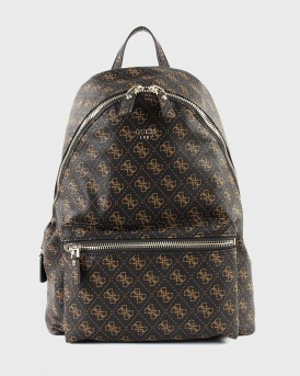 ΣΑΚΙΔΙΟ LEEZA BACKPACK WITH LOGO PRINT ΤΗΣ GUESS - QE455732