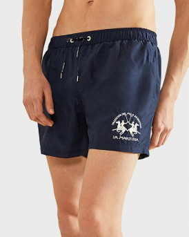 MARMADUKE MEN'S SWIM SHORTS ΤΗΣ LA MARTINA - ΝΜM001 - ΜΠΛΕ