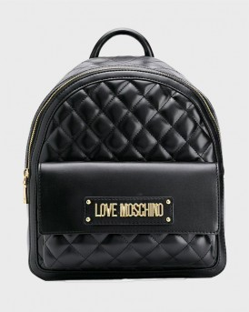 ΣΑΚΙΔΙΟ ΠΛΑΤΗΣ SHINY QUILTED ΤΗΣ LOVE MOSCHINO - JC4007PP18LΑ0