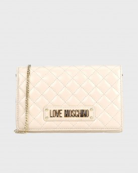 ΤΣΑΝΤΑΚΙ QUILTED EVENING BAG WITH LOGO ΤΗΣ LOVE MOSCHINO - JC4122PP18LA0