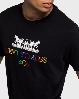 Levis T-Shirt 2Horse Graphic - 22495-0052
