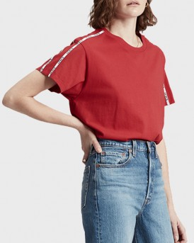 T-SHIRT VARSITY CROPPED TEE ΤΗΣ LEVIS - 68979-0006