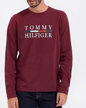 ΜΠΛΟΥΖΑ TOMMY HILFIGER LONG SLEEVE TEE ΤΗΣ TOMMY HILFIGER - ΜW0ΜW11801