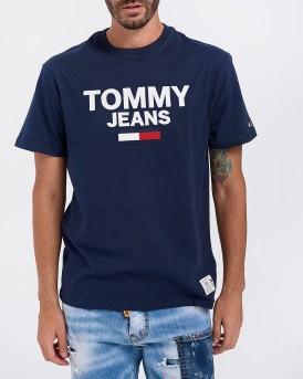 T-SHIRT TJM NOVELTY CORP LOGO TEE ΤΗΣ TOMMY HILFIGER - DΜ0DM07192