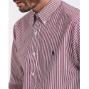 ΠΟΥΚΑΜΙΣΟ CUSTOM FIT STRIPED SHIRT THΣ POLO RALPH LAUREN - 710767399013